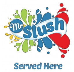 Mr Slush Window Decal