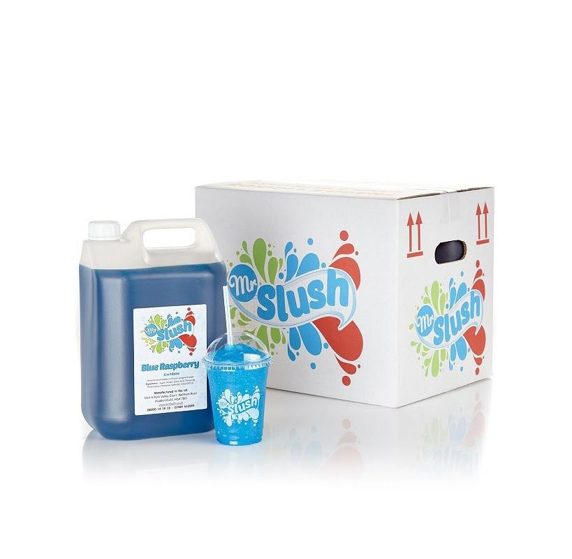 Blue Raspberry Slush Syrup