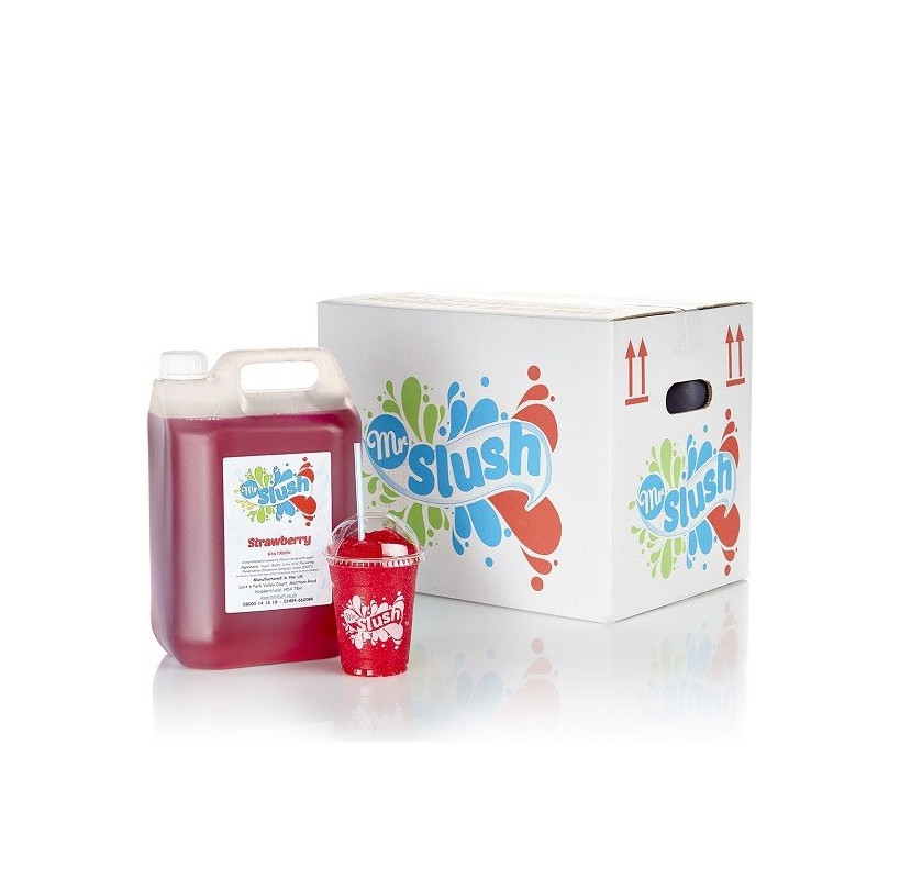 Strawberry Slush Syrup