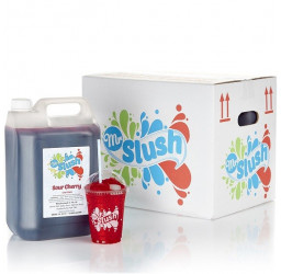 Sour Cherry Slush Syrup