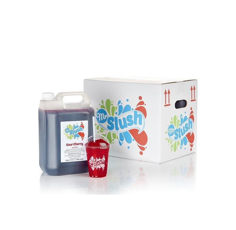 Sour Cherry Slush Syrup