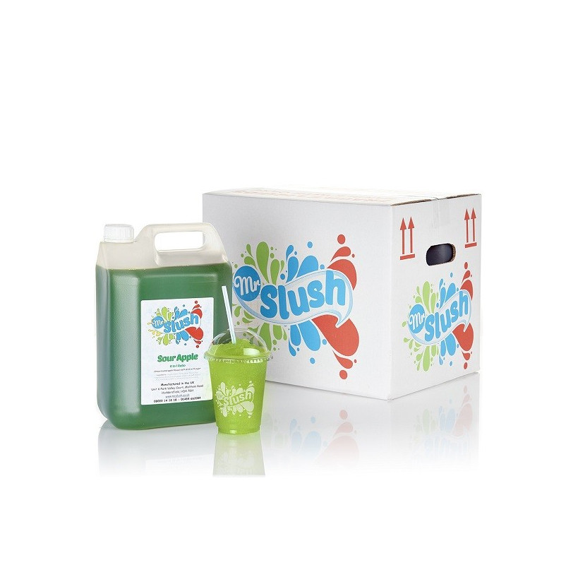 Sour Apple Slush Syrup