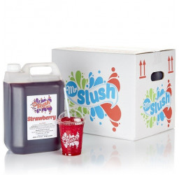 Strawberry Slush Syrup 99% Fruit