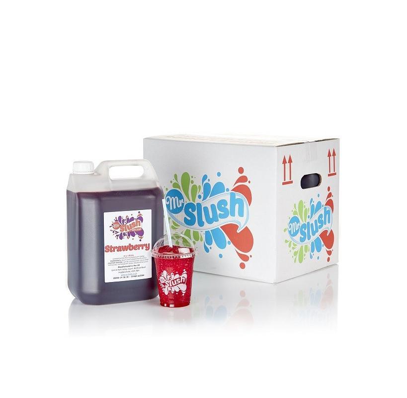 Strawberry Slush Syrup 99% Fruit