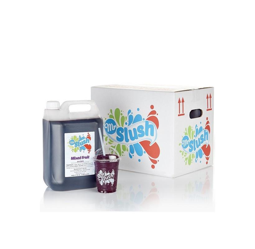 Mixed Fruit Slush Syrup