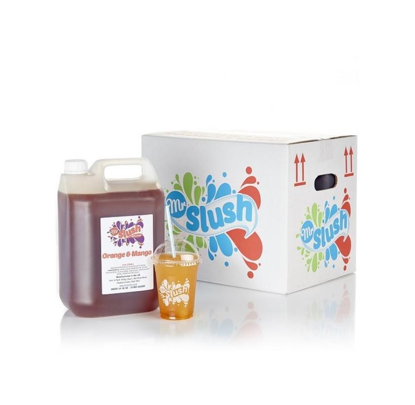 Mango Orange Slush Syrup 99%