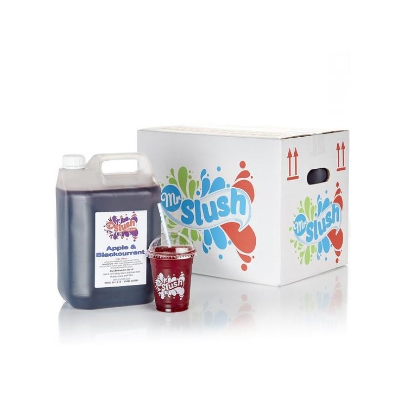 99 Fruit Slush Syrup Apple Blackcurrant