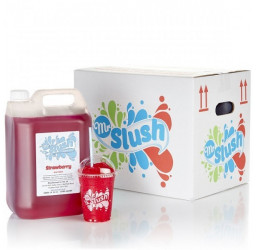 Strawberry Slush Syrup Sugar Free