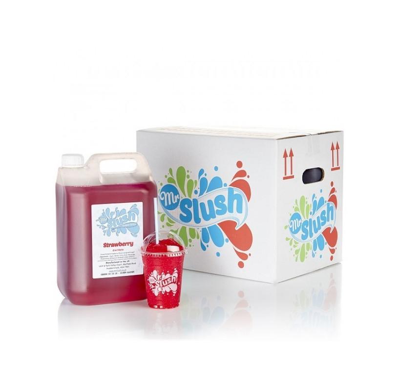 Strawberry Slush Syrup Sugar Free