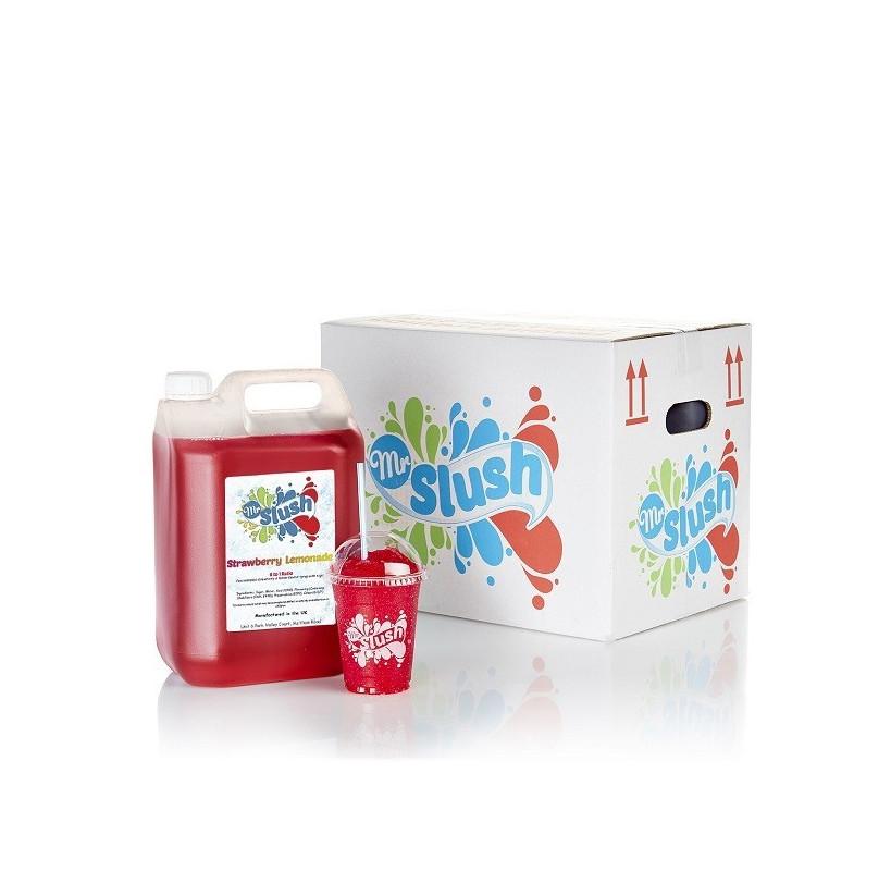 Strawberry Lemonade Slush Syrup