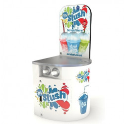 Mr Slush Machine Serving Counter