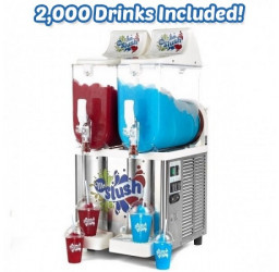 Commercial Slush Machine Bundle