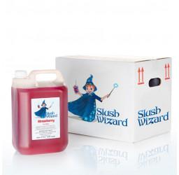 Slush Wizard strawberry slush syrup