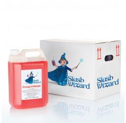 Slush Wizard Orange and Mango Slush Syrup