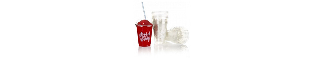 Mr Slush Branded Plastic Slush Cups